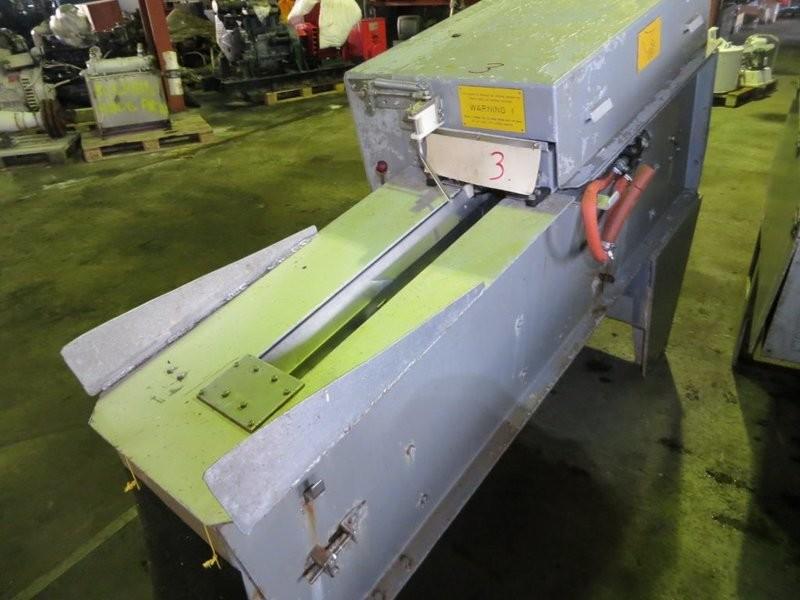 4. Sløye og sorterings maskiner - Baader 159, -1990