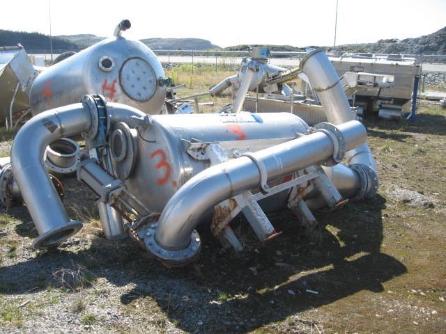 3. Vakumtanker og ventiler - 1350 liter
