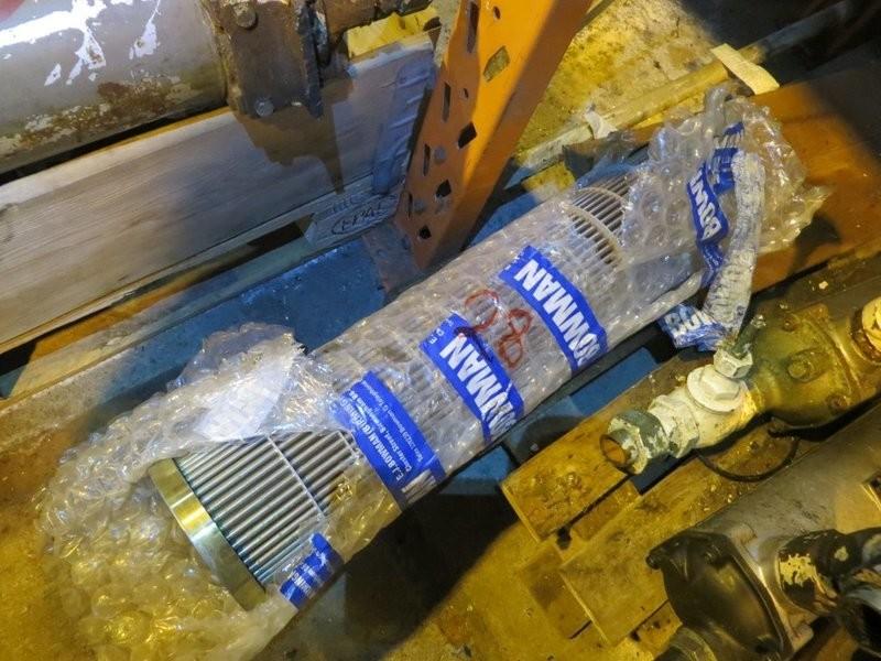 28. Varmevekslere - Nytt Reserve Element, 65,2x14,5cm