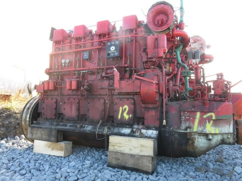 12. Hoved motorer - Callesen  4 cyl, Nørvøy