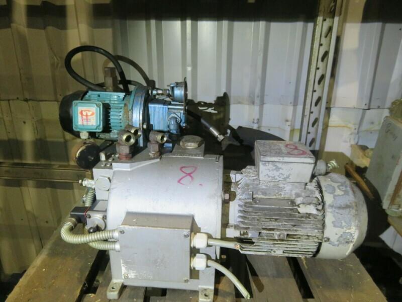 8. Styremaskiner pumper -