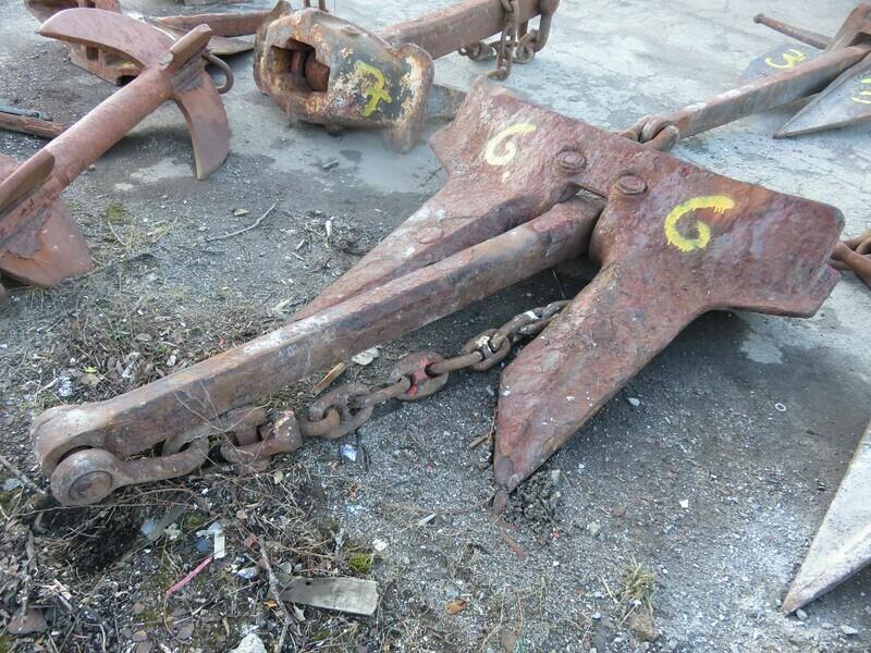 Anker & Kjetting no.6 - 1420 kg
