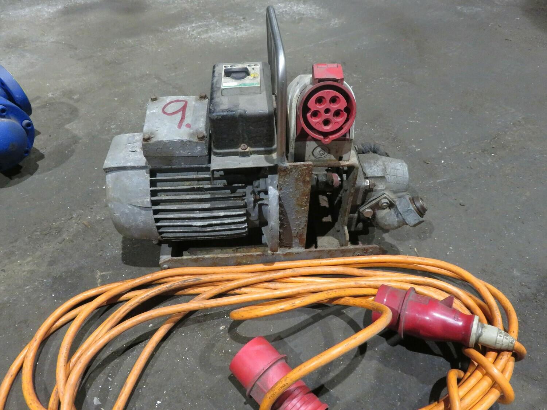 9. Tannhjul pumpe   400V