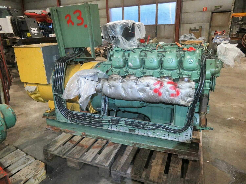 23. Motor og Generator sett - Mercedes OM 423