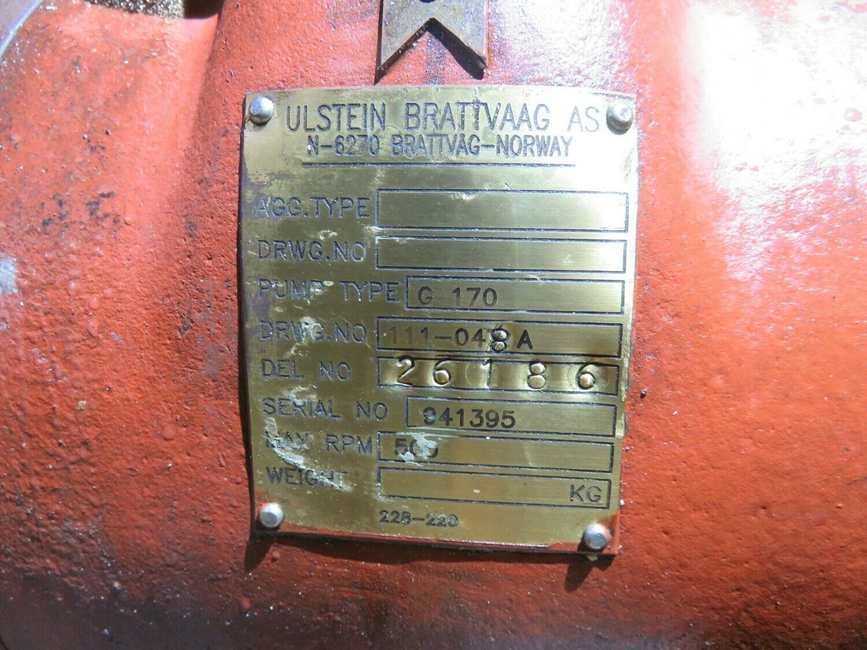 4. 2 stk  Latrykk filter  Ulstein- Brattvåg