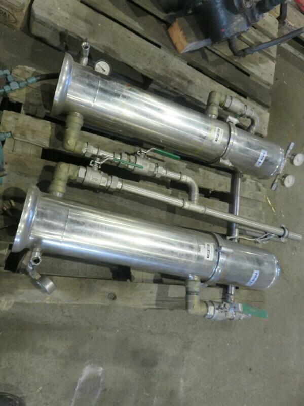 1.   Vannfilter + reserve filter