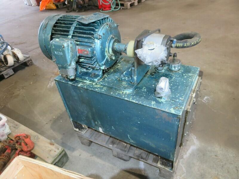 2. Hydraulik agregat - servi