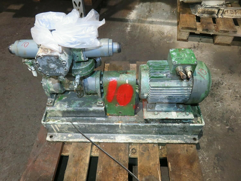 10.Allweiler DR2 H22   2,6-3,2kw  230v