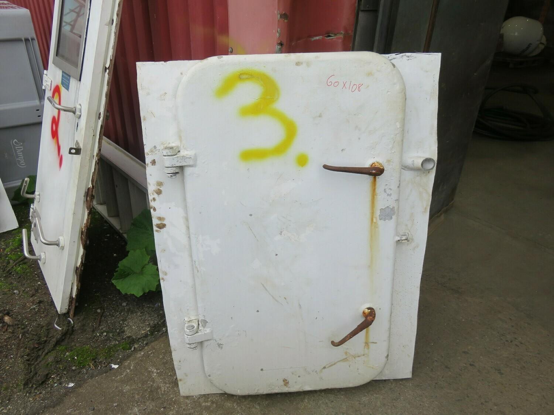 3.Dører m/ Ramme   60x108 Lysåpning  Alu/alu