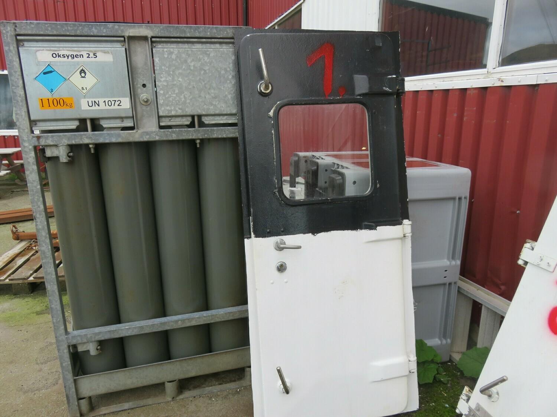 1.Dører m/ Ramme 178x67 lysåpning     Gf/alu