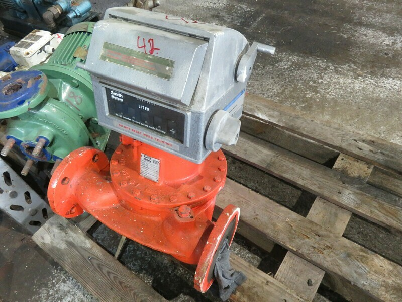 42.   Flowmeter /telleapparat