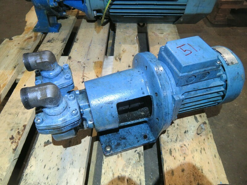 51. Albin Gear pump, 0.37kw  220v  1