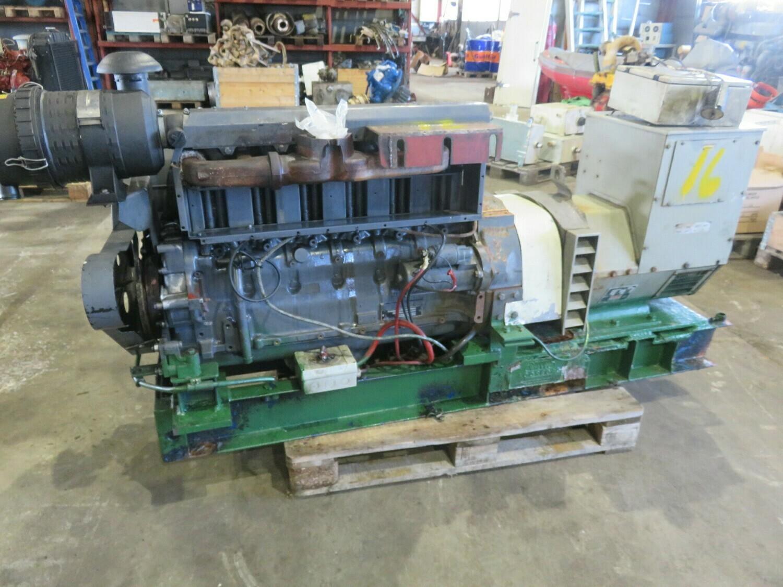 16.    Deutz F6L912  75hk 1500 rpm   65kva 380v   -1999  Havgløtt