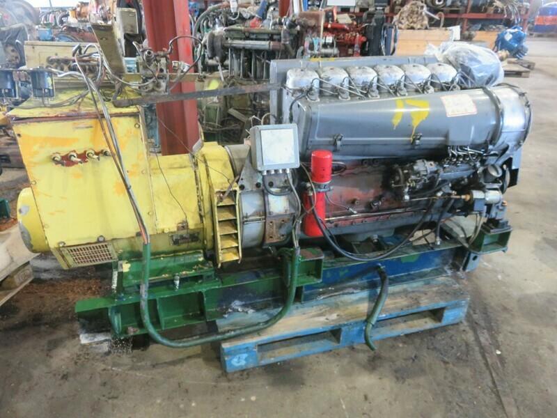 17. Deutz F6L912  75hk 1500 rpm  65kva 400v      -2002  Havgløtt