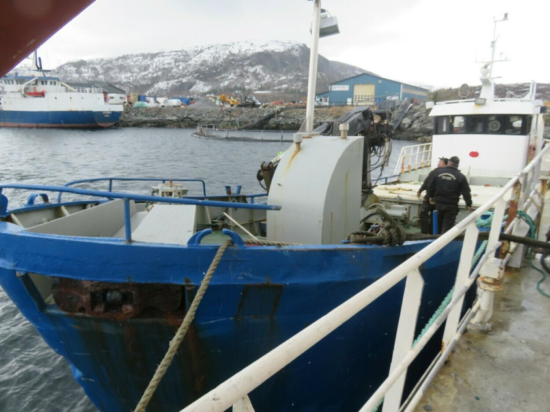 mars 2021   ms Skanbjørn      liten brønnbåt