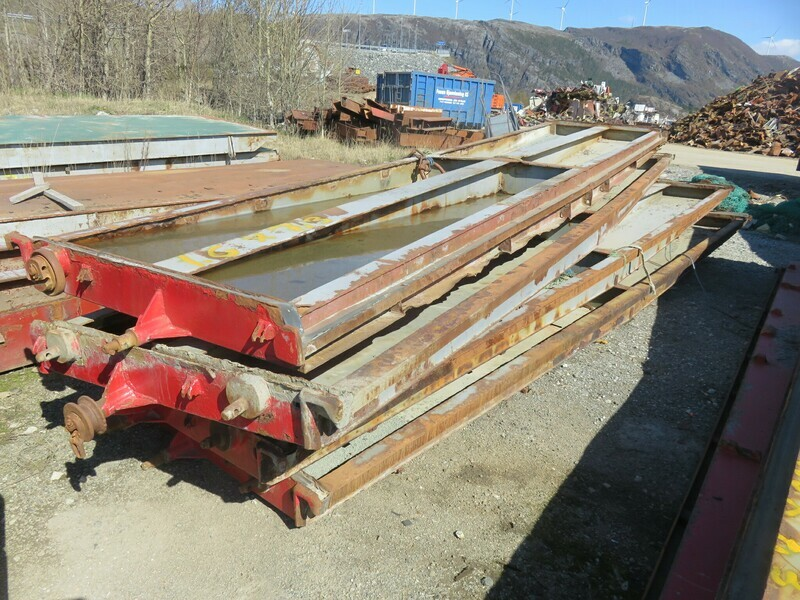8 stk Luker     Osfjord            1,6 x 7,3m   1550kg stk