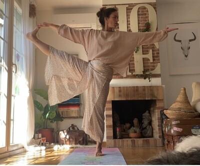 Pantalón con aperturas Saree