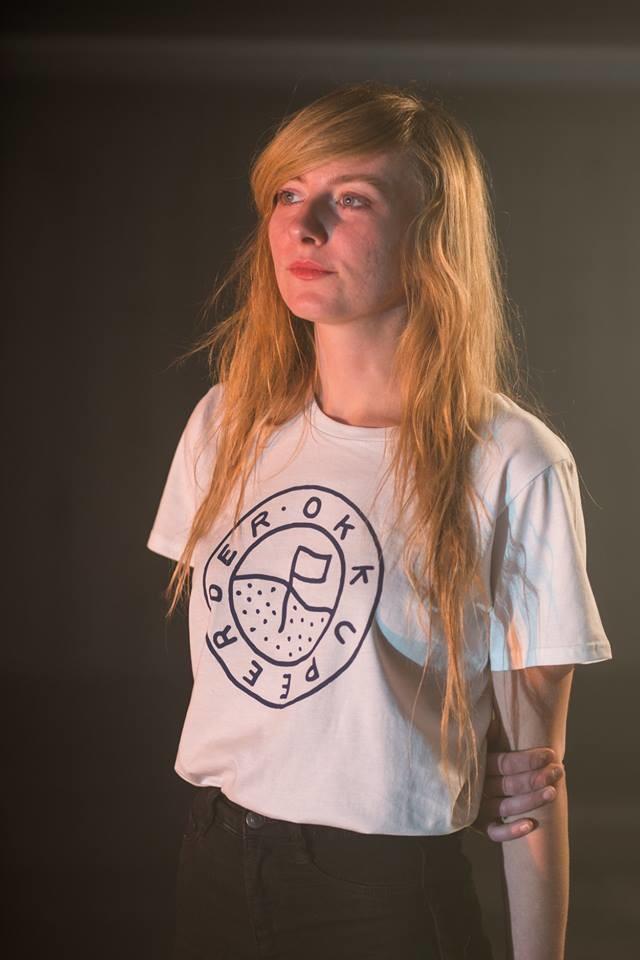 T-shirt met logo vrouw