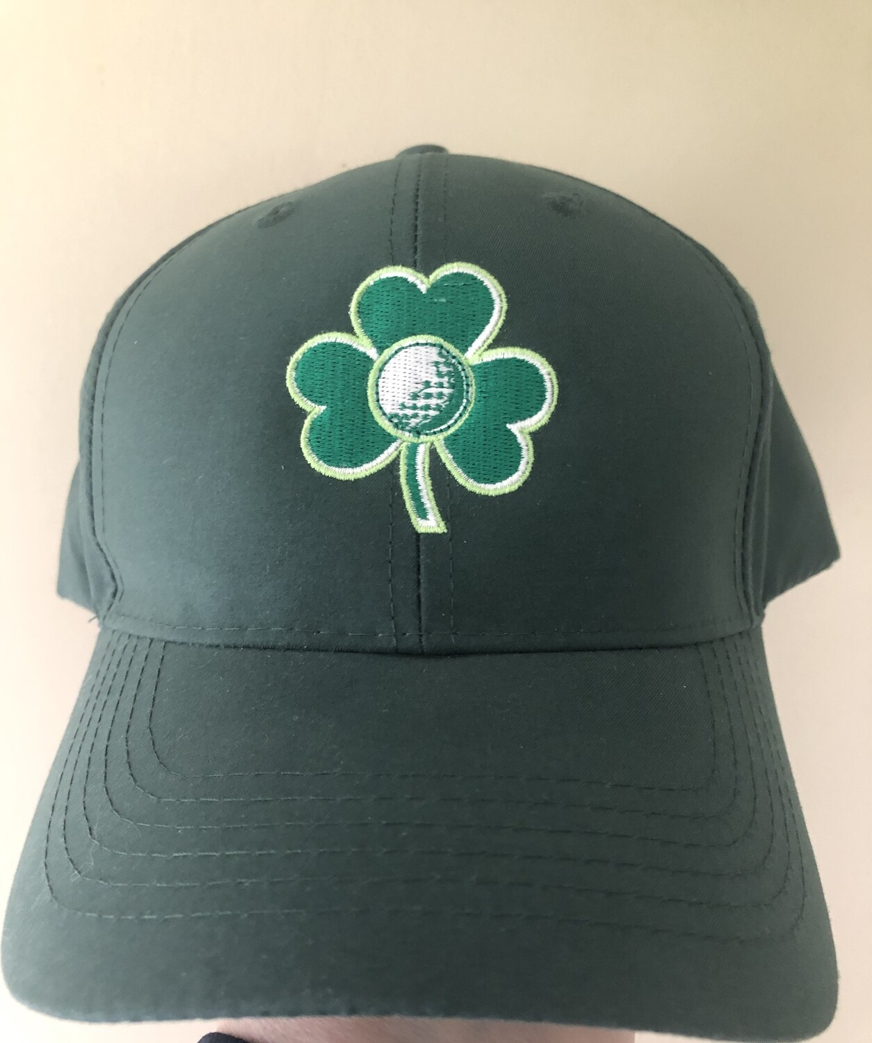 Green Shamrock Cap