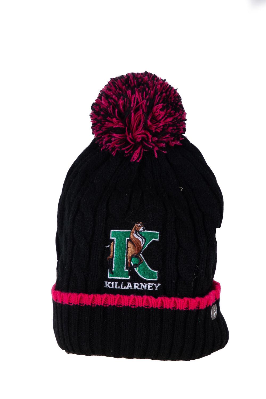Killarney Wool Hat (Black)