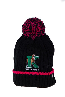 Killarney Wool Hat (Black)