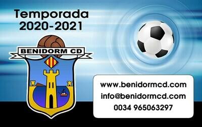 Benidorm CD Season Ticket - Adult 00206