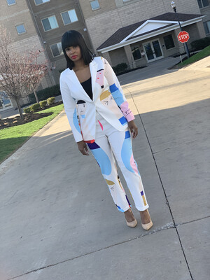 Ivory Pretty Face Suit