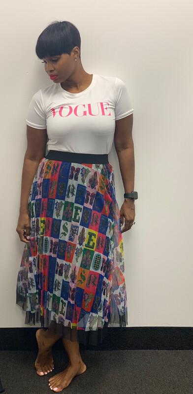 The Letter Me Skirt