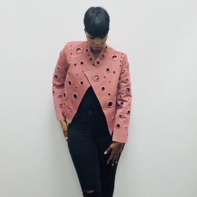 Pink Grommet Jacket
