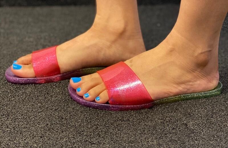 Paradise Pink Rainbow Slide