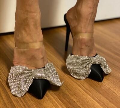 Bling Bow Heel