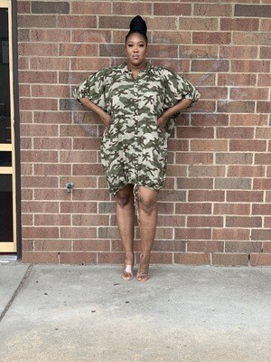 Comfy Light Camo Dress