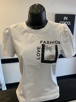 White - Love Fashion T-shirt