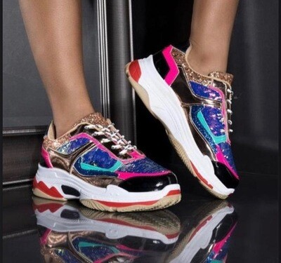 Glamorous - Multi Color Sneaker