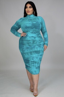Plus Jade Fitted Dress