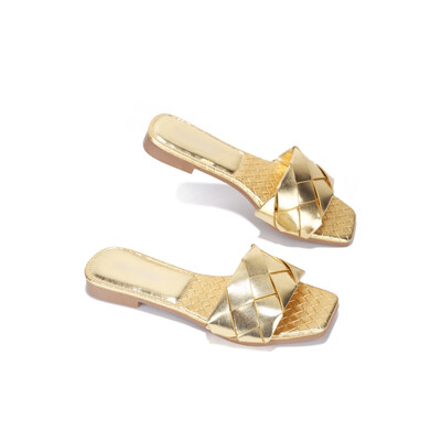 Sandy - Gold Mule Slide
