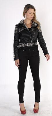 Black Spike Jacket