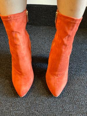 Charm - Orange Bootie