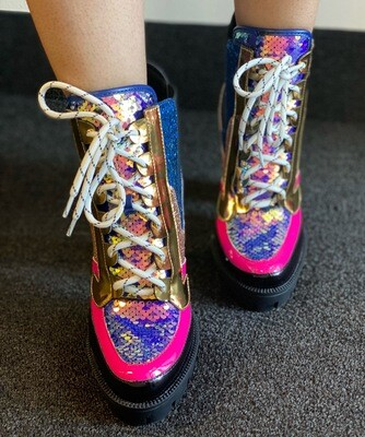 Irresistible - Multi Color Boot