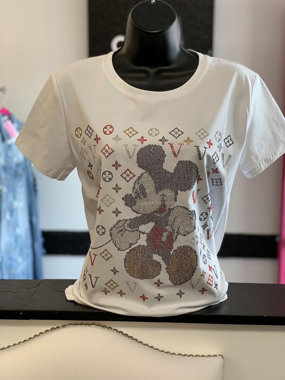White Bling Mickey