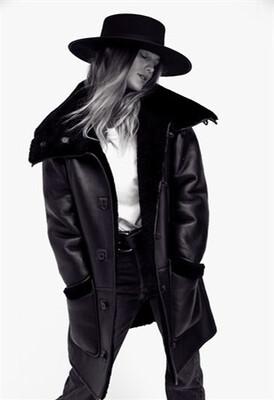 Gambler - Black Stiff Brim Hat