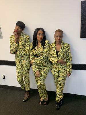 Yellow Python Suit