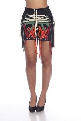 String Me Up Multi Basic Color Skirt