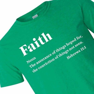 Green Faith T-shirt