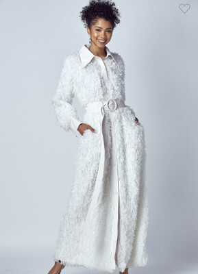 Ivory Maxi Coat