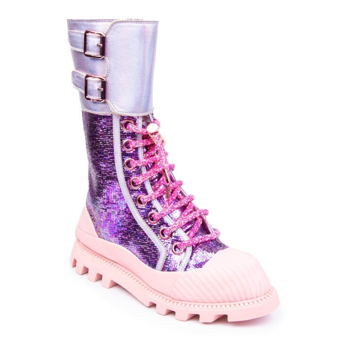Purple Shine - Boot