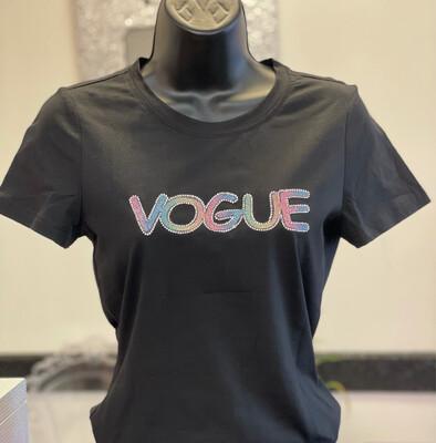 Vogue Tee-Black