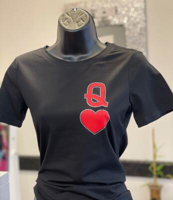 Queen Shirt-Black