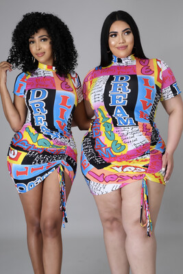 Dream Graffiti Dress
