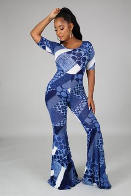 Blue C Jumpsuit